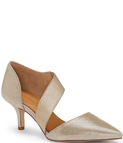 CC Corso Como Denice Metallic Leather Pumps