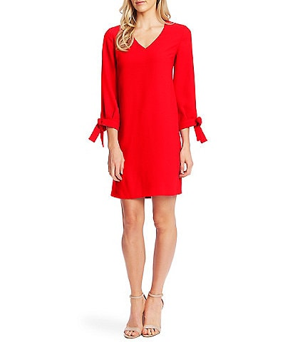 CeCe 3/4 Sleeve Shift Dress
