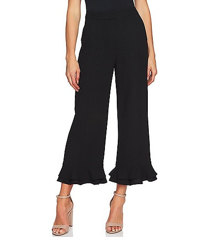 CeCe Ruffled Trim Pant