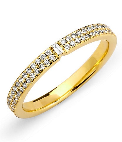 Celara 14K Gold & Diamond Pave Ring