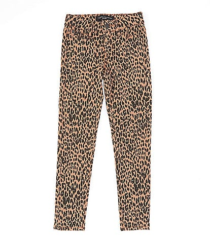 Celebrity Pink Big Girls 7-16 Cheetah-Print Skinny Jean