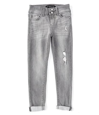 Celebrity Pink Big Girls 7-16 Pebble Denim Skinny Jeans