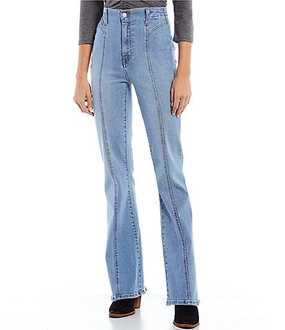 Celebrity Pink High Rise Seamed Flare Leg Jeans