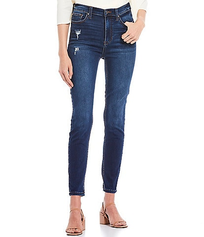 Celebrity Pink High Rise Super Soft Ankle Skinny Jeans