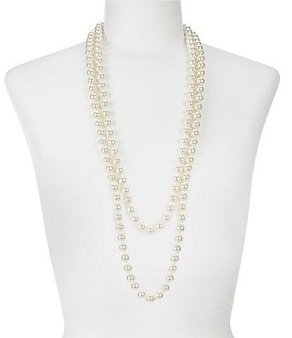 Cezanne Faux-Pearl Continuous Necklace