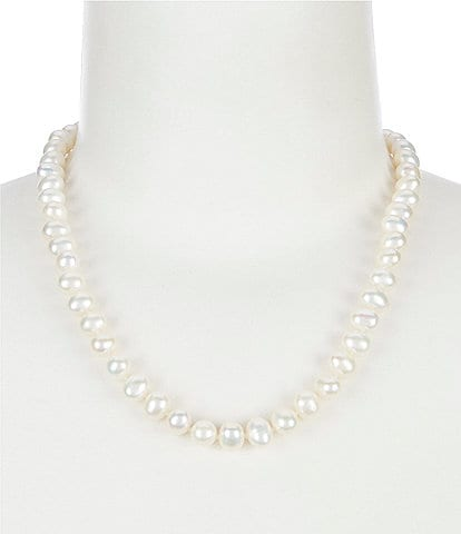 Cezanne 8mm Fresh Water Pearl Collar Necklace