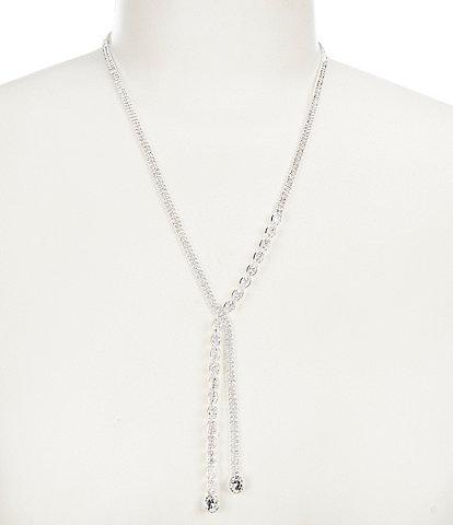 Cezanne Crystal Crossover Y-Necklace