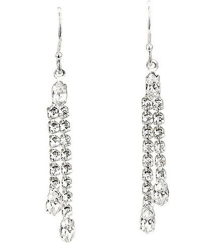 Cezanne Crystal Drop Statement Earrings