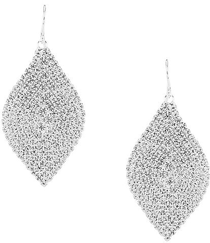 Cezanne Crystal Leaf Statement Earrings
