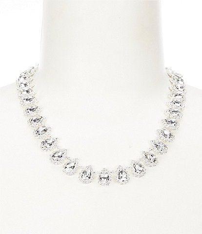 Cezanne Crystal Pears Statement Necklace