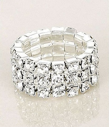 Cezanne Crystal Stretch Ring