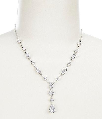 Cezanne CZ Stone Mix Y-Necklace