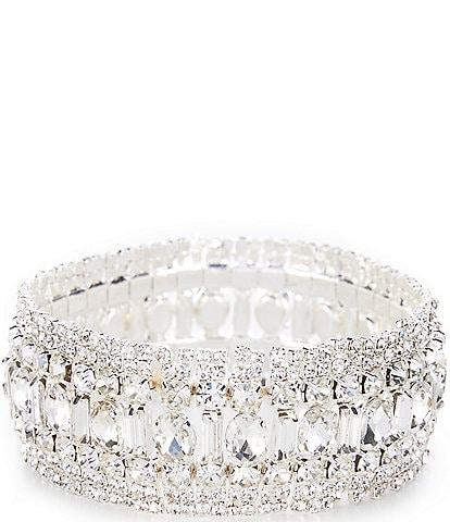 Cezanne Glamour Statement Stretch Bracelet