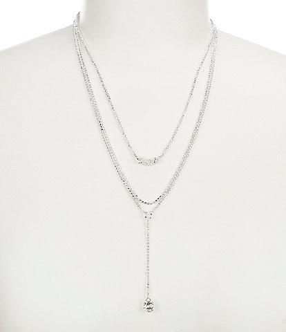 Cezanne Layered Long Drop Necklace