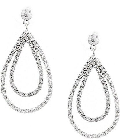 Cezanne Layered Loops Statement Earrings