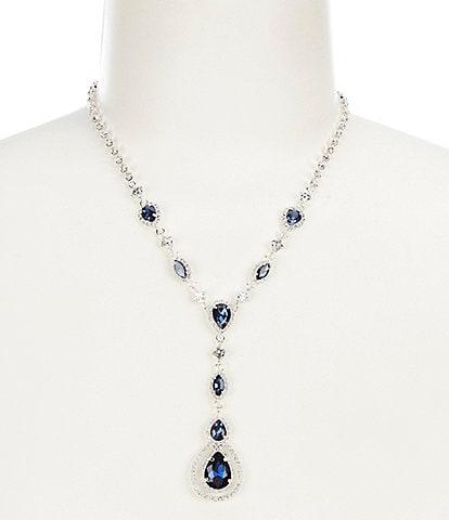 Cezanne Pear Drop Pendant Y-Necklace