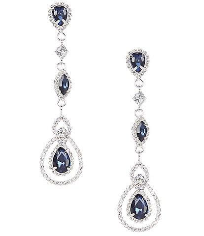 Cezanne Pear Linear Earrings