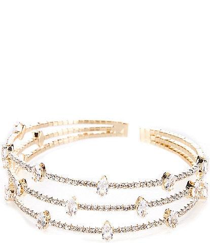 Cezanne Studded Cuff Bracelet