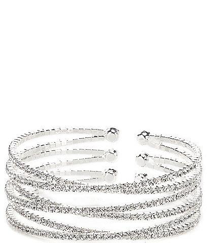 Cezanne Triple Overlap Cuff Bracelet