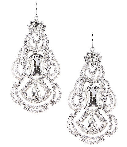 Cezanne Weave Chandelier Earrings