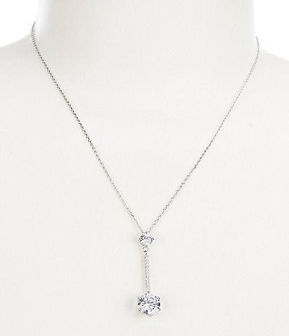 Cezanne Y Drop Pendant Necklace
