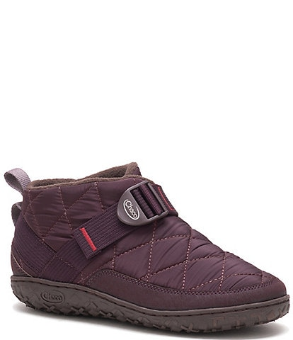 Chaco Ramble Puff Quilted Water Resistant Nylon Slipper Booties
