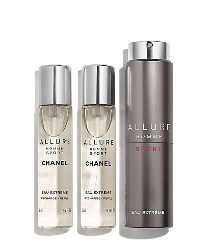CHANEL ALLURE HOMME SPORT EAU EXTREME REFILLABLE TRAVEL SPRAY