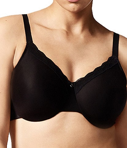 Chantelle C Comfort Seamless Unlined Full-Busted Molded U-Back Underwire Bra