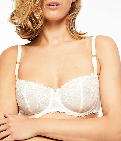 Chantelle Champs Elysees Lace Unlined Demi Bra