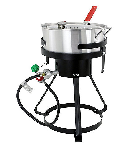 Chard 10.5-Quart Fish & Wing Fryer with Strainer Basket