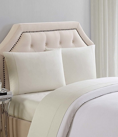 Charisma 310 Thread Count Cotton Solid Sheet Set