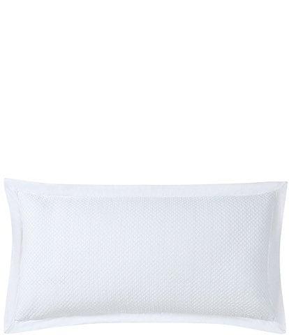 Charisma Fairfield White Bolster Pillow