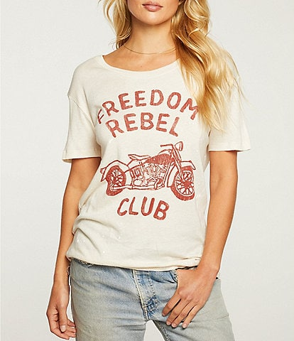 Chaser Knit Rebel Short Sleeve Tee