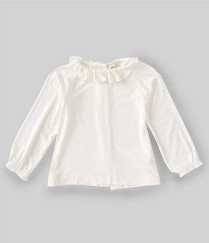 Chelsea & Violet Baby Girls 12-24 Months Long-Sleeve Ruffle-Collar Top