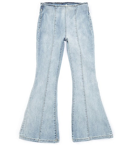 Chelsea & Violet Big Girls 7-16 Seamed Flare Pull-On Jeans