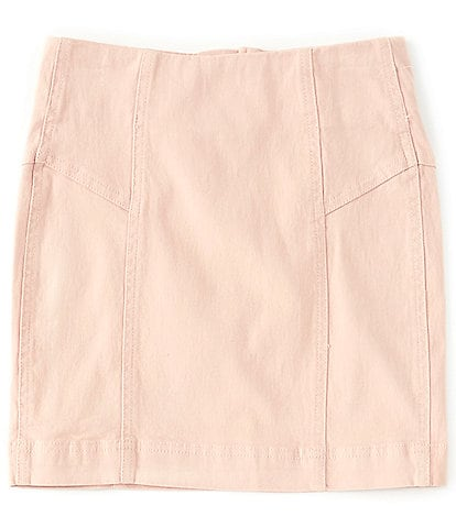Chelsea & Violet Big Girls 7-16 Seamed Mini Skirt