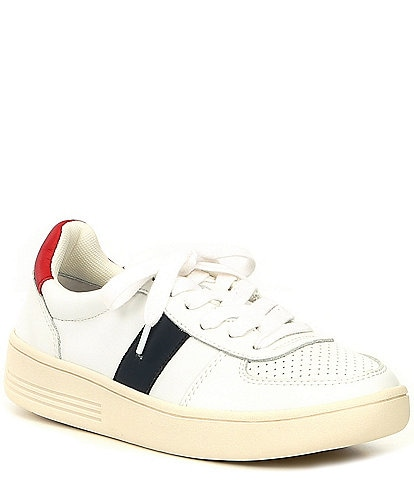 Chelsea & Violet Diana Leather Colorblock Low-Top Sneakers