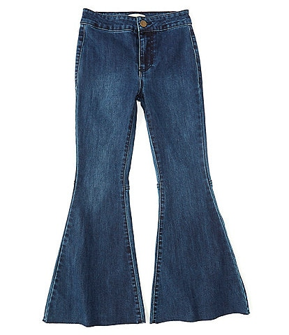 Chelsea & Violet Girls Big Girls 7-16 Denim Exaggerated Flare Jeans