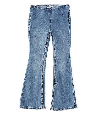 Chelsea & Violet Little Girls 2T-6X Flare Denim Pants