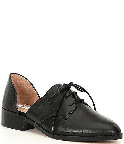 Chelsea & Violet Tayla Leather d'Orsay Oxfords