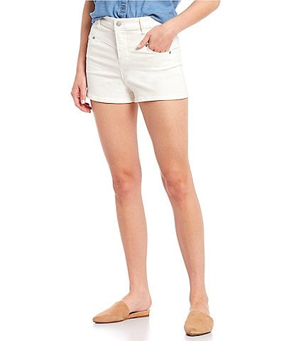 Chelsea & Violet V Front Stretch Denim Short