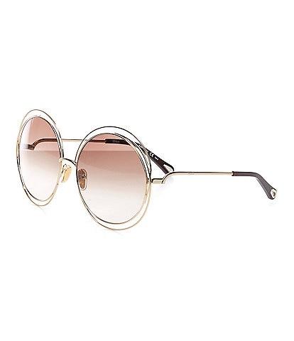 Chloe Women's Ch0045s Round 62mm Sunglasses