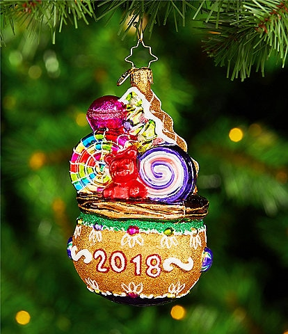 Christopher Radko Dillard's 2018 Candy Bag Ornament