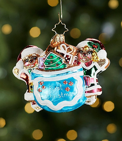 Christopher Radko Merry Messages Ornament