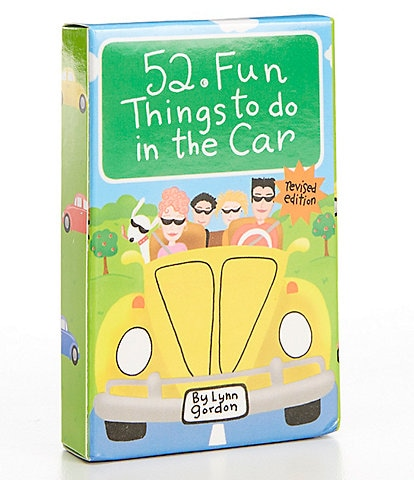 Chronicle Books 52 Fun Things To Do In The Car Book