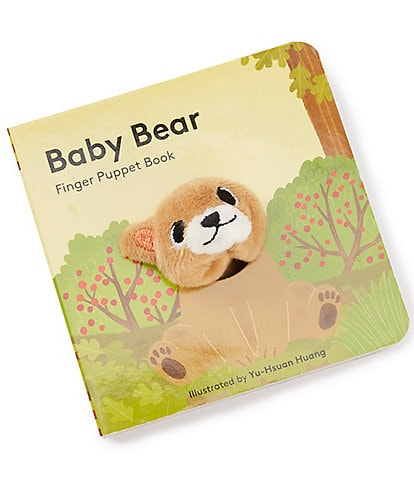 Chronicle Books Baby Bear: Finger Puppet Book