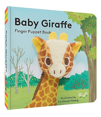 Chronicle Books Baby Giraffe Finger Puppet Book