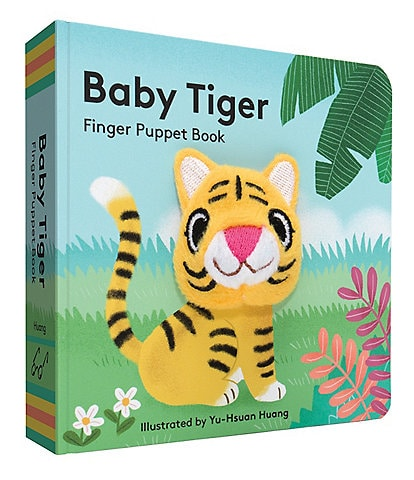Chronicle Books Baby Tiger Finger Puppet Book