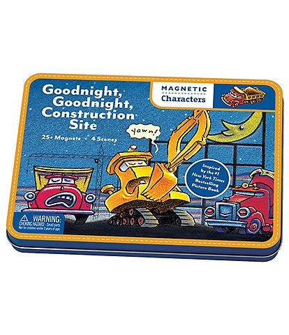 Chronicle Books Goodnight, Goodnight Construction Site Magnetic Character Set