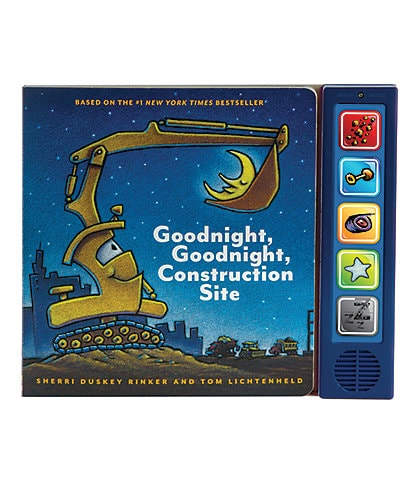 Chronicle Books Goodnight, Goodnight Construction Site Sound Book